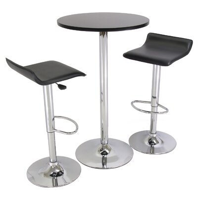 Ultimo 3 Piece Pub Table Set