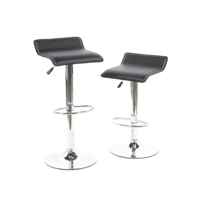 Caddens Adjustable Height Swivel Bar Stool