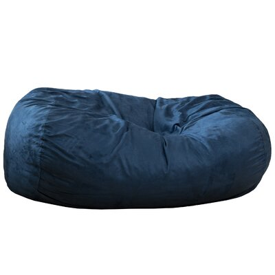 Bean Bag Sofa Upholstery: Blue