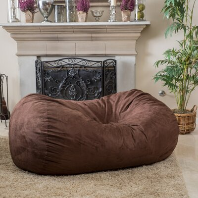 Bean Bag Sofa Upholstery: Brown