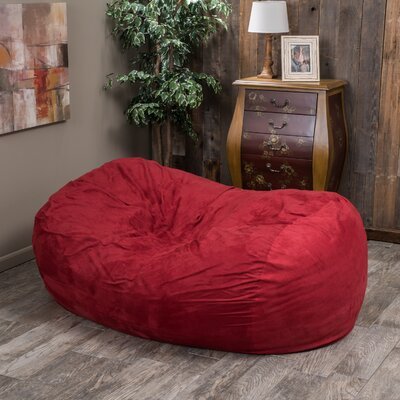 Bean Bag Sofa Upholstery: Red