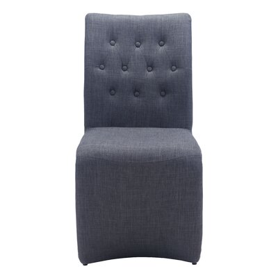 Cheryl Parsons Chair Upholstery: Dark Gray