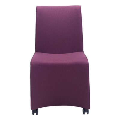Cheyenne Parsons Chair Upholstery: Purple