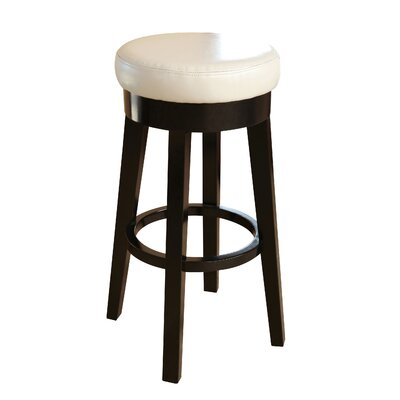 Bojkovice 26 Bar Stool Upholstery: Ivory