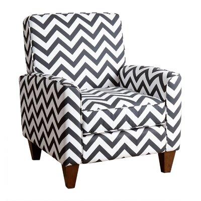 Lauren Chevron Arm Chair