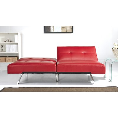 Sleeper Sofa Upholstery: Red
