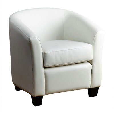 Bolatice Barrel Chair Color: Ivory