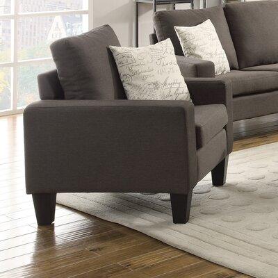 Corine Armchair Upholstery: Grey
