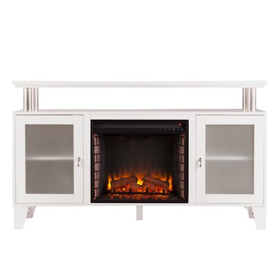 Borovany 60 TV Stand with Fireplace