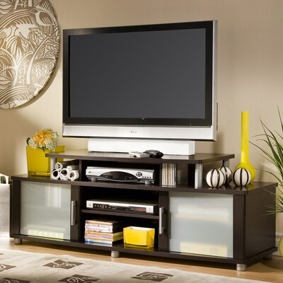 City Life 59 TV Stand Finish: Chocolate