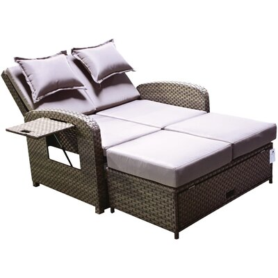 Kirsten Chaise with Storage Ottoman