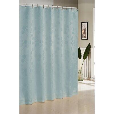 Branov Shower Curtain Color: Aqua