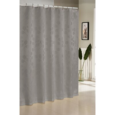 Branov Shower Curtain Color: Charcoal