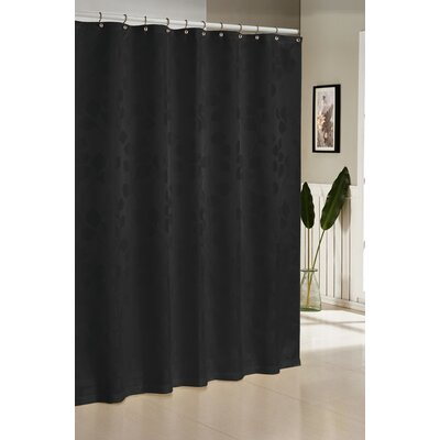 Branov Shower Curtain Color: Black