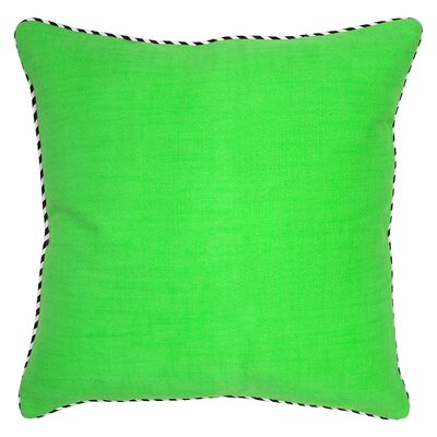 Brumovice Cotton Throw Pillow Color: Neon Green