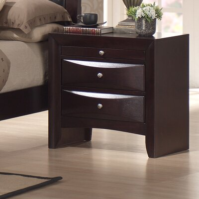 Archer 3 Drawer Nightstand