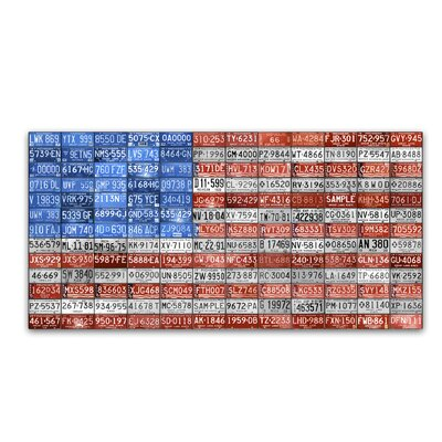 Michigan Flag by Design Turnpike by Design Turnpike Graphic Art on Wrapped Canvas
