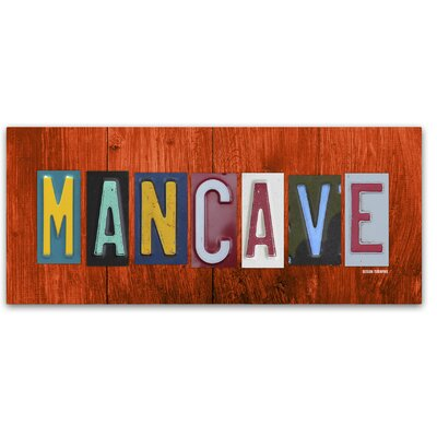 Man Cave by Design Turnpike by Design Turnpike Graphic Art on Wrapped Canvas