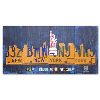 New York City Skyline by Design Turnpike Graphic Art on Wrapped Canvas