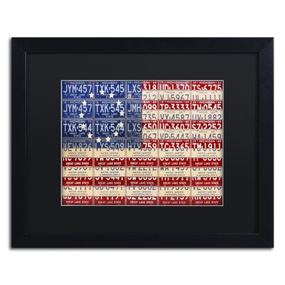 Betsy Ross Flag by Design Turnpike Framed Graphic Art Size: 16