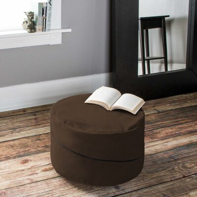 Bubovice Pouf Upholstery: Brown