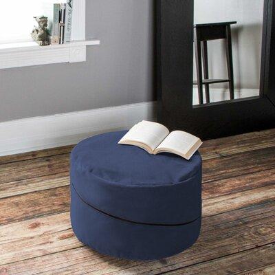 Bubovice Pouf Upholstery: Blue