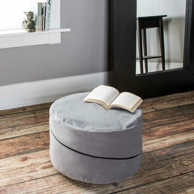 Bubovice Pouf Upholstery: Gray