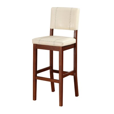 Phillip 30 Bar Stool Upholstery: Cream