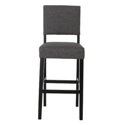 Murphy 29 Bar Stool Upholstery: Smokey Gray