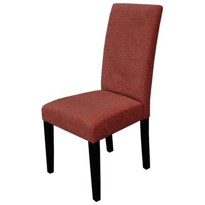 Kara Parsons Chair Upholstery: Burnt Orange