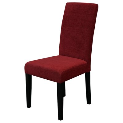 Kara Parsons Chair Upholstery: Dark Red