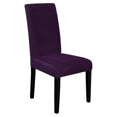 Kara Parsons Chair Upholstery: Eggplant