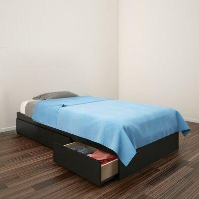 Britt Platform Bed with Storage Size: Twin