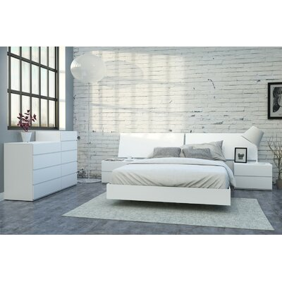 Chelsey Modern Platform Customizable Bedroom Set