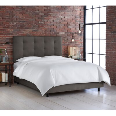 Full Double Upholstered Panel Bed Size Twin Upholstery Premier Oatmeal