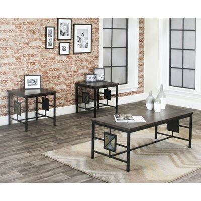 Rowan 3 Piece Coffee Table Set