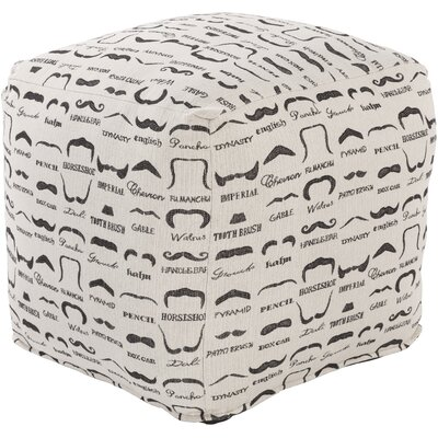Noelle Pouf Ottoman Upholstery: Ivory