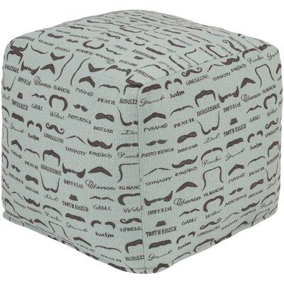 Noelle Cube Ottoman Upholstery: Slate
