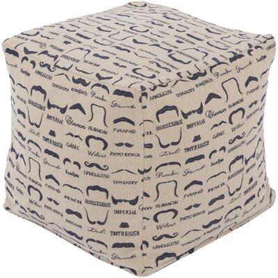 Noelle Cube Ottoman Upholstery: Beige