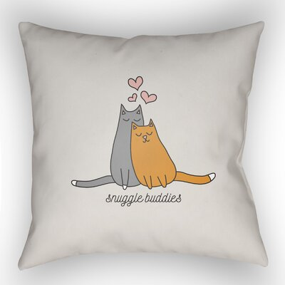 Snuggle Accent Indoor/Outdoor Throw Pillow Size: 18 H x 18 W
