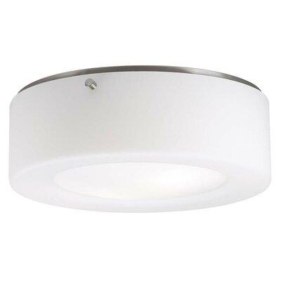 Belrose 2-Light Flush Mount Size / Bulb Type: 3.75