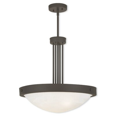 Ann 4-Light Inverted Pendant Finish: Bronze