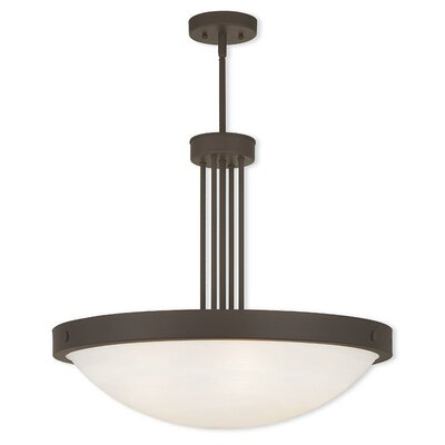 Ann 5-Light Pendant Finish: Bronze