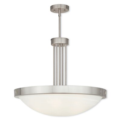 Ann 5-Light Pendant Finish: Brushed Nickel