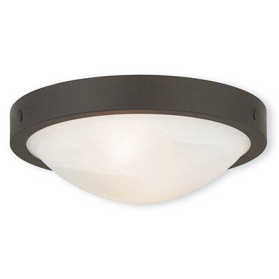 Ann 2-Light Flush Mount Finish: Bronze