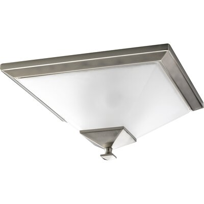 Chickamauga 2-Light Flush Mount Finish: Brushed Nickel