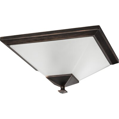 Chickamauga 2-Light Flush Mount Finish: Venetian Bronze