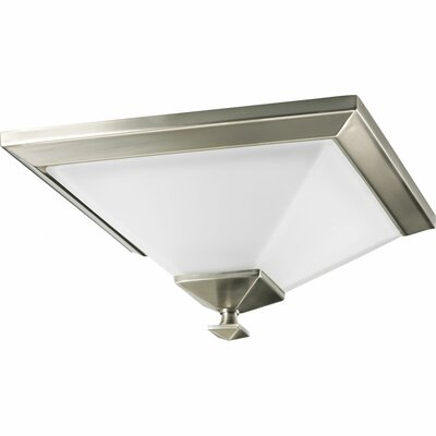 Chickamauga 1-Light Semi Flush Mount Finish: Brushed Nickel