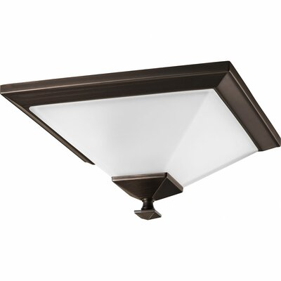 Chickamauga 1-Light Semi Flush Mount Finish: Venetian Bronze