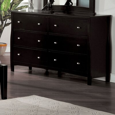Warwick 6 Drawer Dresser